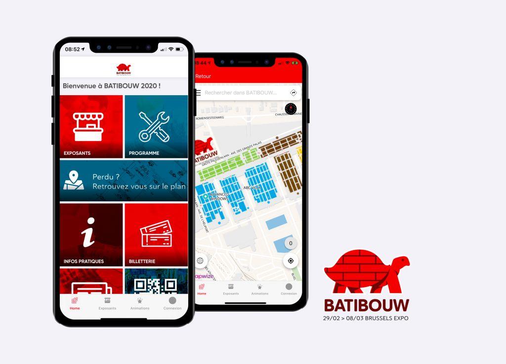 App du salon Batibouw